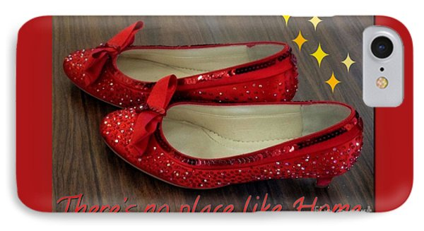 Ruby Slippers IPhone Case
