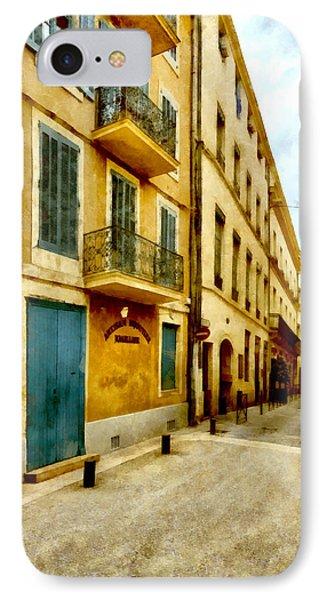 IPhone Case featuring the photograph Rue De La Violette by Scott Carruthers