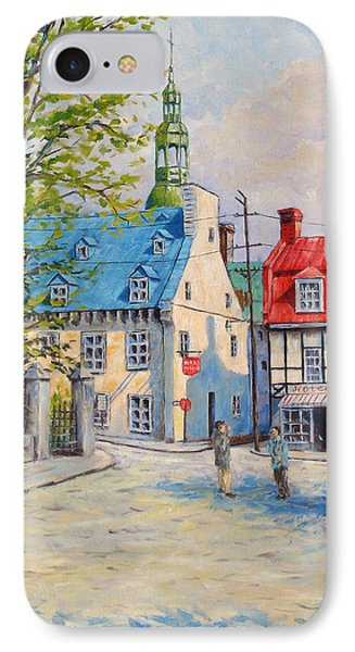 Rue Ste Anne 1965 IPhone Case by Richard T Pranke