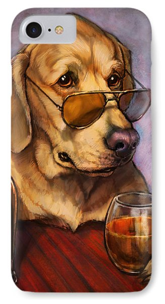 Ruff Whiskey IPhone Case by Sean ODaniels