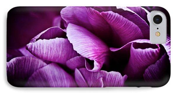 Ruffled Edge Tulips IPhone Case