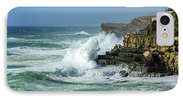 IPhone Case featuring the photograph Rugged Coastal Seascape by Marion McCristall