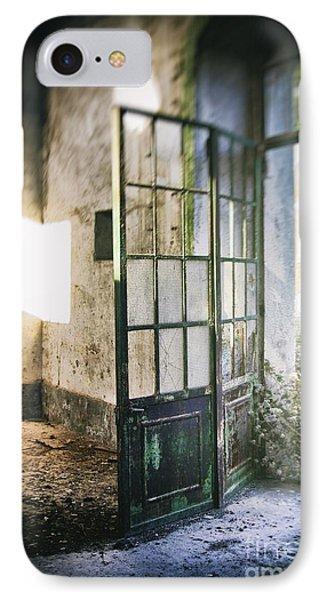 Ruined Door IPhone Case