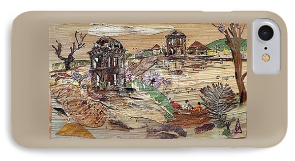 Ruined Structures  Phone Case by Basant Soni