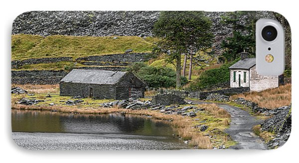 IPhone Case featuring the photograph Ruins At Cwmorthin by Adrian Evans