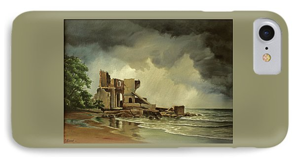 Ruins Near Kenosha IPhone Case by Paul Krapf