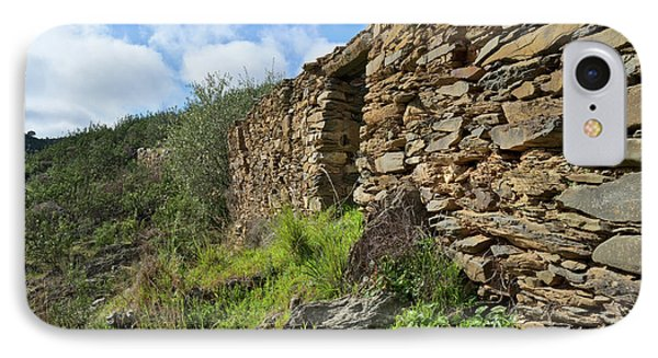 Ruins Of A Schist Cottage In Alentejo Phone Case by Angelo DeVal