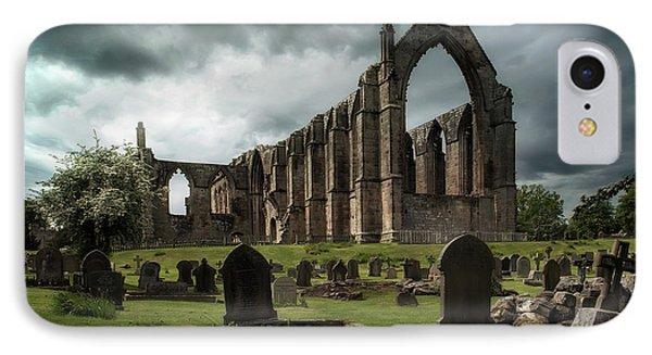 Ruins Of Bolton Abbey IPhone Case by Jaroslaw Blaminsky