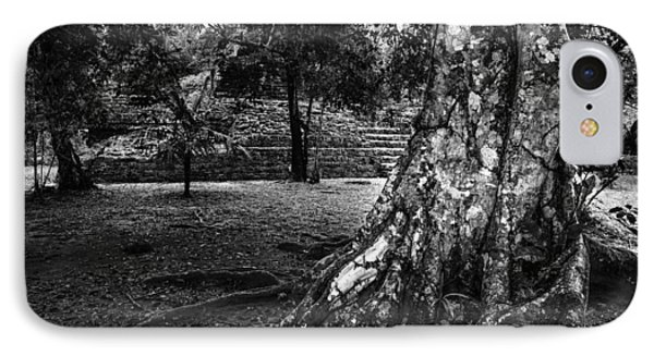 IPhone Case featuring the photograph Ruins Of Tikal by Yuri Santin