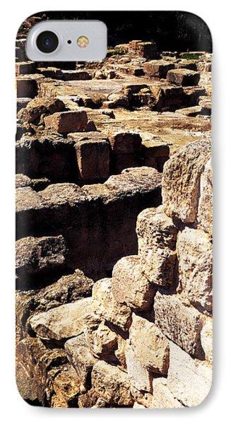 Ruins Of Zippori Phone Case by Thomas R Fletcher