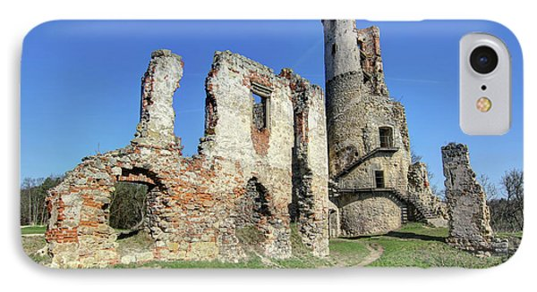 IPhone Case featuring the photograph Ruins Of Zviretice Castle by Michal Boubin