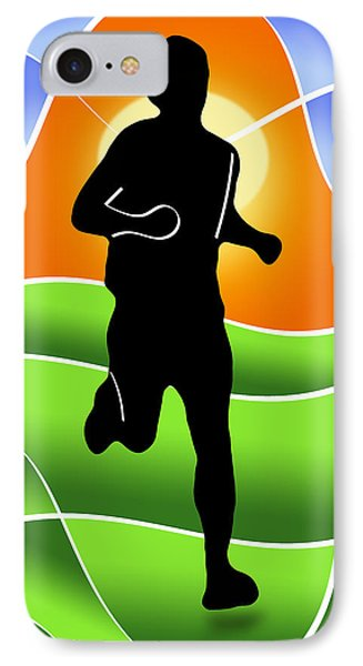 Run Phone Case by Stephen Younts