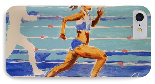 Runner I IPhone Case by Bachmors Artist