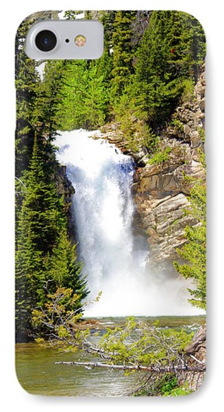 Running Eagle Falls Phone Case by Marty Koch