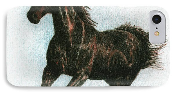 Running Free Phone Case by Arline Wagner