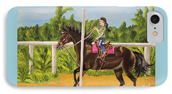 Running The Poles Phone Case by Sheri LaBarr