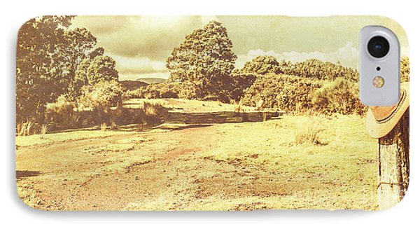 Rural Australia Panorama IPhone Case by Jorgo Photography - Wall Art Gallery