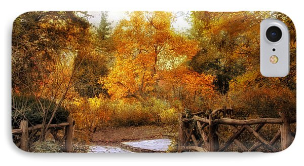 Rural Autumn Entrance IPhone Case by Jessica Jenney