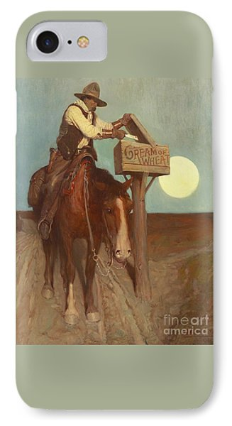 Rural Delivery IPhone Case by Newell Convers Wyeth