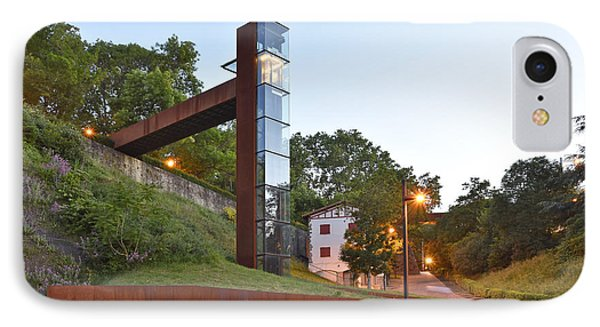 Rural Elevator Pamplona Spain IPhone Case by Marek Stepan
