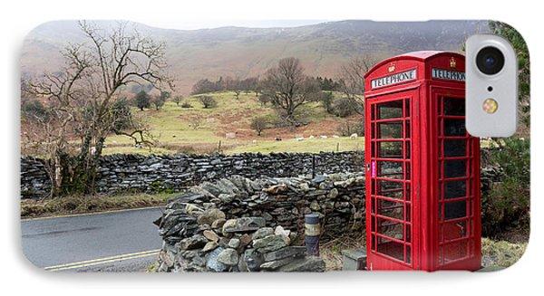 Rural English Phone Box IPhone Case