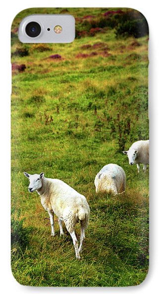 IPhone Case featuring the photograph Rural Idyll. Wicklow. Ireland by Jenny Rainbow