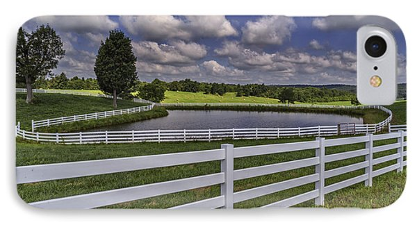 Rural Kentucky Landscape IPhone Case by Wendell Thompson