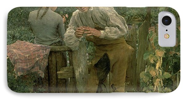 Rural Love Phone Case by Jules Bastien Lepage