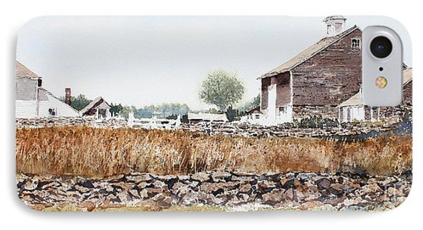 Rural Maine IPhone Case by Monte Toon