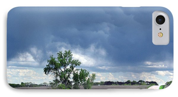 IPhone Case featuring the photograph Rural Nebraska by Tyler Robbins