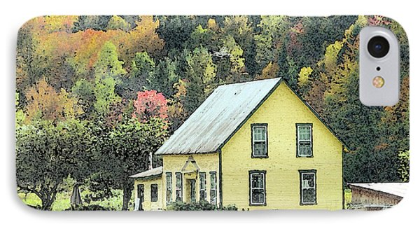 Rural New England Phone Case by Betty LaRue