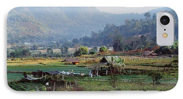 Rural Scene Near Chiang Mai, Thailand Phone Case by Bilderbuch