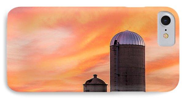 Rural Skies IPhone Case by Todd Klassy