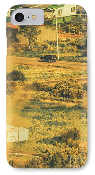 Rural Tasmania Landscape At Summer IPhone Case