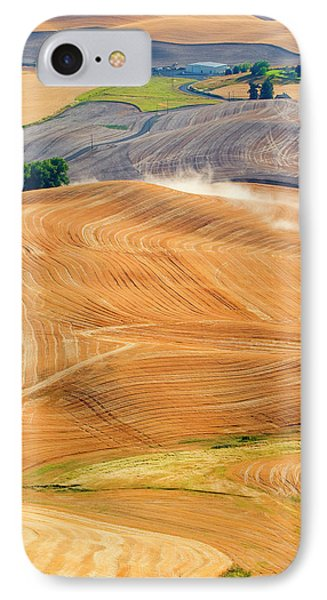 Rural Traffic IPhone Case by Mike  Dawson