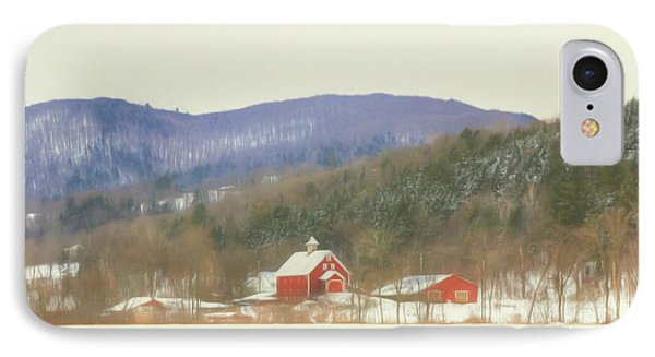 Rural Vermont IPhone Case by Sharon Batdorf