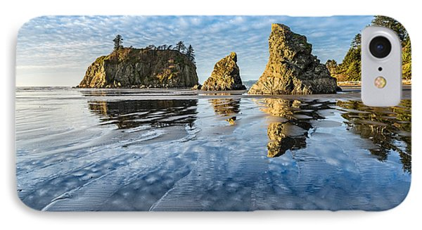 Ruby Beach Reflection IPhone Case