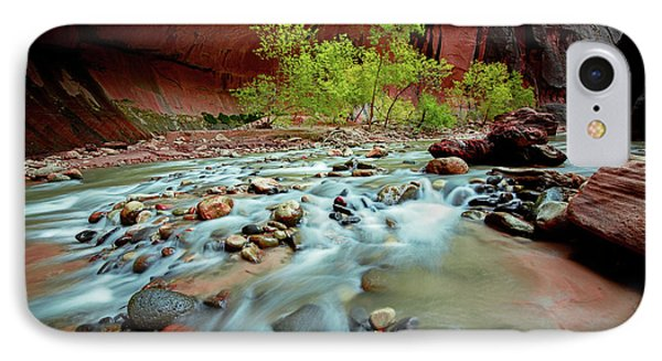 Rush At Narrows IPhone Case