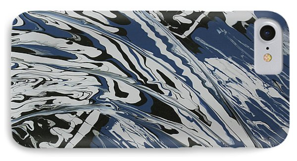 Rush Drip IPhone Case by Cathy Beharriell