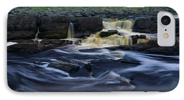 IPhone Case featuring the photograph Rushing By The Falls by Heidi Hermes