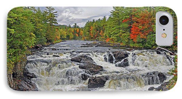 IPhone Case featuring the photograph Rushing Towards Fall by Glenn Gordon