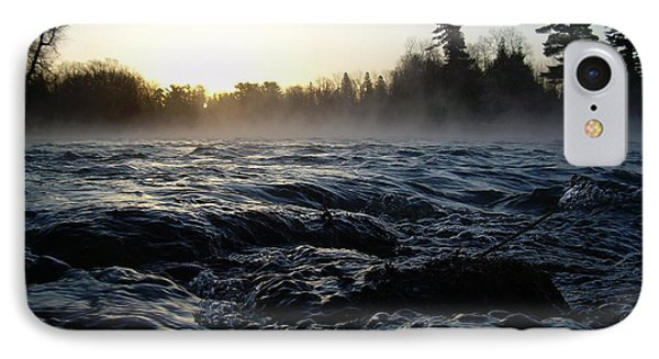 IPhone Case featuring the photograph Rushing Water In Missississippi River by Kent Lorentzen
