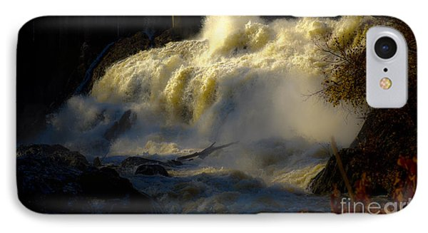 Rushing Water IPhone Case by Sherman Perry