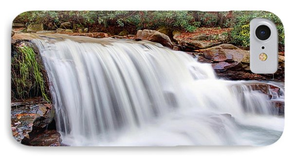 IPhone Case featuring the photograph Rushing Waters Of Decker Creek by Gene Walls