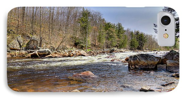 IPhone 7 Case featuring the photograph Rushing Waters Of The Moose River by David Patterson