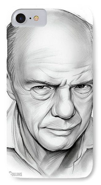 Russell Collins IPhone Case by Greg Joens