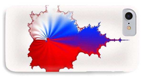 Russian Fractal Curve IPhone Case