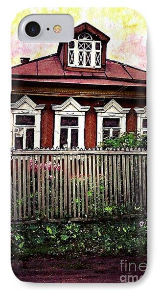 Russian House Phone Case by Sarah Loft