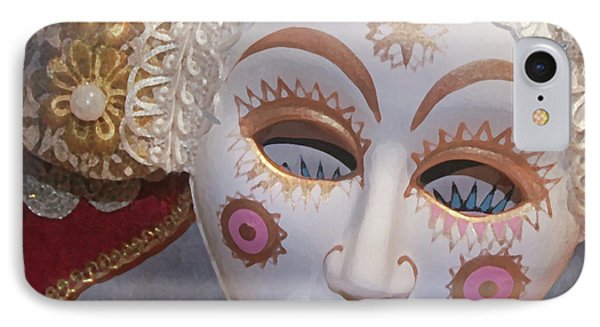Russian Mask 4 Phone Case by Jeff Burgess
