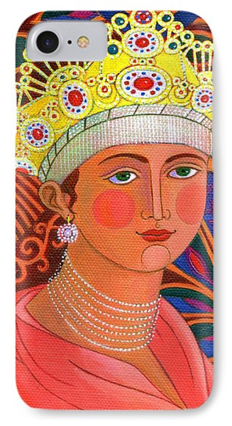 Russian Princess IPhone Case by Jane Tattersfield